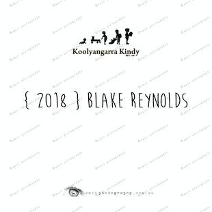 { 2018 } Blake REYNOLDS