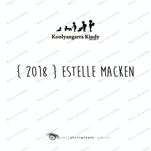 { 2018 } Estelle MACKEN