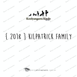 { 2018 } KILPATRICK family