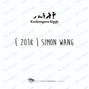 { 2018 } Simon WANG
