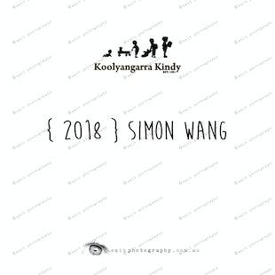 { 2018 } Simon WANG