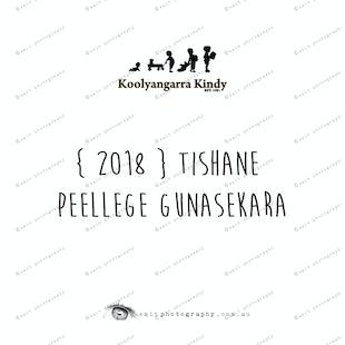 { 2018 } Tishane PEELLEGE GUNASEKARA