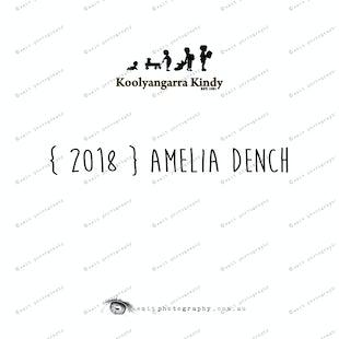 { 2018 } Amelia DENCH