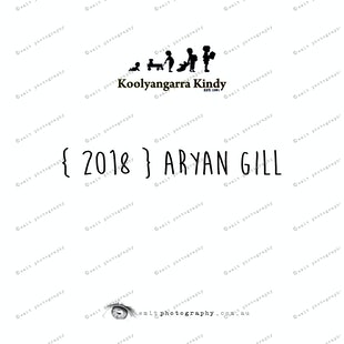 { 2018 } Aryan GILL