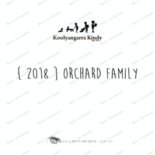 { 2018 } ORCHARD family