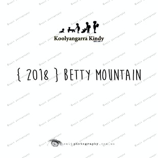 { 2018 } Betty MOUNTAIN