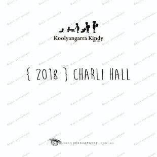 { 2018 } Charli HALL