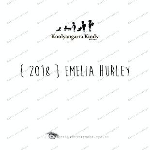 { 2018 } Emelia HURLEY