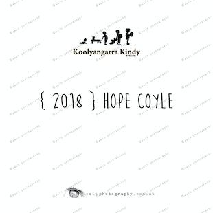 { 2018 } Hope COYLE