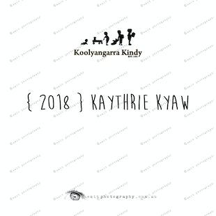 { 2018 } Kaythrie KYAW