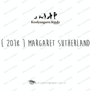 { 2018 } Margaret SUTHERLAND