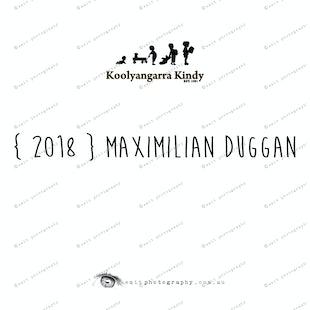 { 2018 } Maximilian DUGGAN