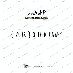 { 2018 } Olivia CAREY