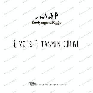 { 2018 } Tasmin CHEAL