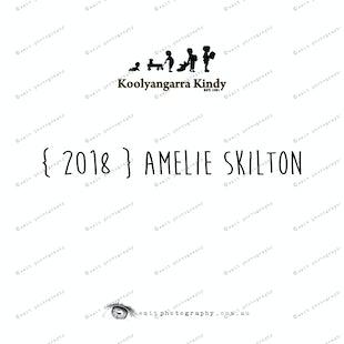 { 2018 } Amelie SKILTON