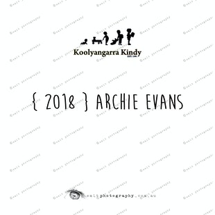 { 2018 } Archie EVANS