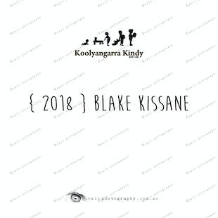 { 2018 } Blake KISSANE