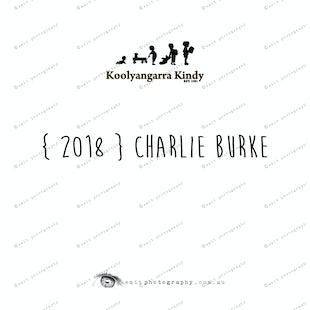 { 2018 } Charlie BURKE