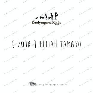 { 2018 } Elijah TAMAYO