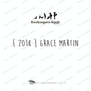 { 2018 } Grace MARTIN