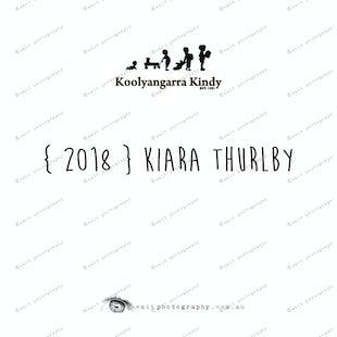 { 2018 } Kiara THURLBY