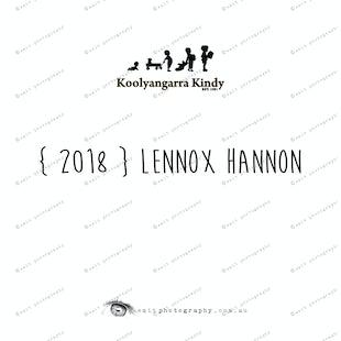 { 2018 } Lennox HANNON
