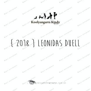 { 2018 } Leonidas DUELL