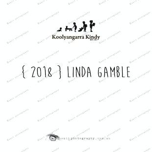 { 2018 } Linda GAMBLE