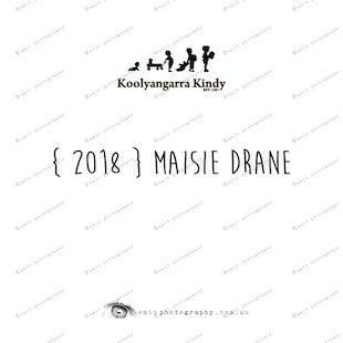 { 2018 } Maisie DRANE