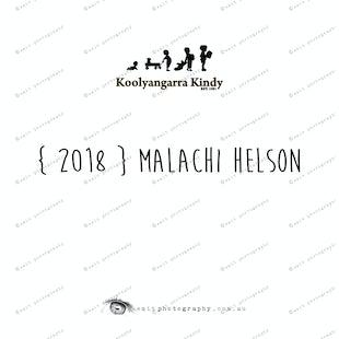 { 2018 } Malachi HELSON