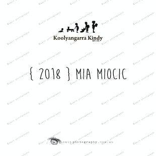 { 2018 } Mia MIOCIC