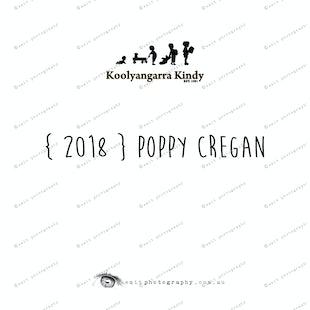 { 2018 } Poppy CREGAN