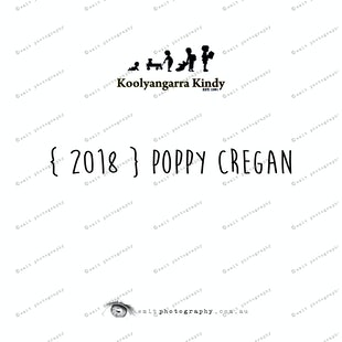 { 2018 } Poppy CREGAN