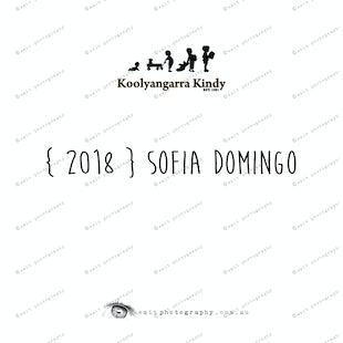 { 2018 } Sofia DOMINGO