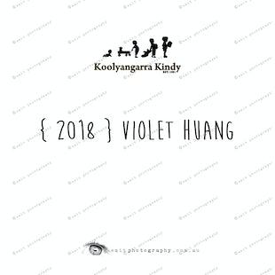 { 2018 } Violet HUANG