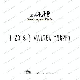 { 2018 } Walter MURPHY