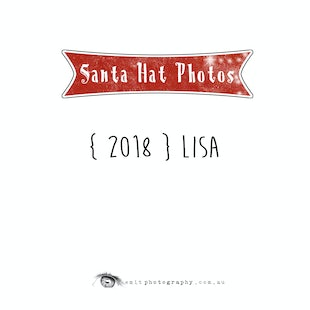 2018 Santa Hat Photos - Lisa