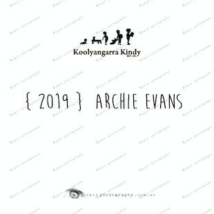 {2019} ARCHIE EVANS