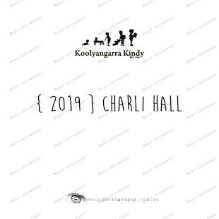 {2019} CHARLI HALL