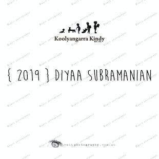 {2019} DIYAA SUBRAMANIAN