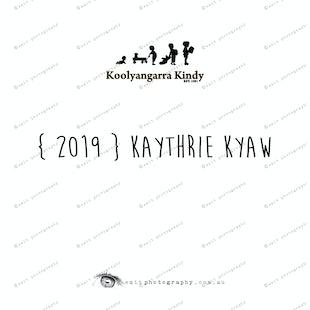 {2019} KAYTHRIE KYAW