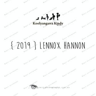 {2019} LENNOX HANNON