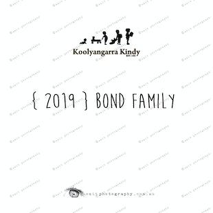 {2019}  BOND FAMILY