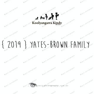 {2019} YATES-BROWN FAMILY