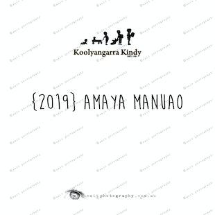 {2019} AMAYA MANUAO