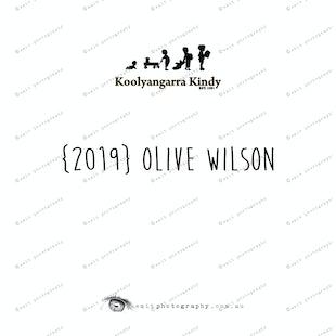 {2019} OLIVE WILSON