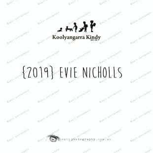 {2019} EVIE NICHOLLS