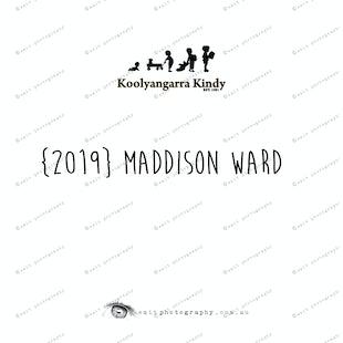 {2019} MADDISON WARD