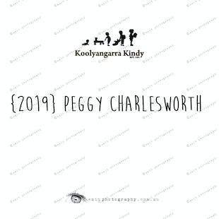{2019} PEGGY CHARLESWORTH