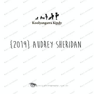 {2019} AUDREY SHERIDAN
